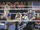 My1Wrestling.ru WXW 2nd Annual Women's Elite 8 22.11.2003 - Beth Phoenix Vs. Angel Williams (Angelina Love)